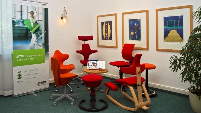 Sitoo & Dorsas: Ergonomische Möbel und Physiotherapie in Erlangen
