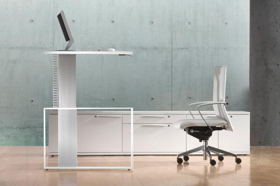 Leuwico IMove: Designer Schreibtisch Mit Höhenverstellung
