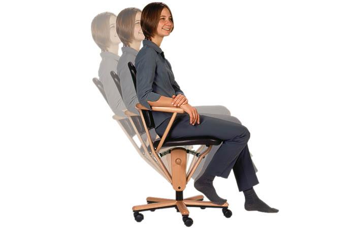 Bürostuhl ergonomisch holz  Moizi 18 und Moizi 21 - Bürostühle im Holz-Design