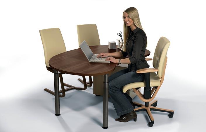 Ergonomischer bürostuhl holz  Moizi 18 und Moizi 21 - Bürostühle im Holz-Design