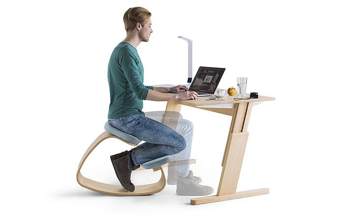 Bürostuhl ergonomisch holz  Rokko - Ein Alternative zum Bürostuhl aus Holz - von Nest Nature
