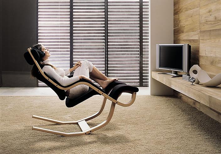 Varierstokke Gravity Entspannungssessel Ruhesessel Wohnzimmersessel