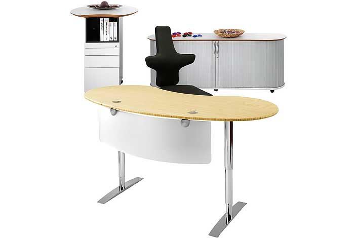 Vital-Office Bambus Büro: Schreibtische aus Massivholz, designed ...