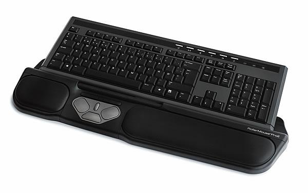Ergonomische tastatur und maus  RollerMouse Pro 2 ergonomische Maus. (Bildseite)