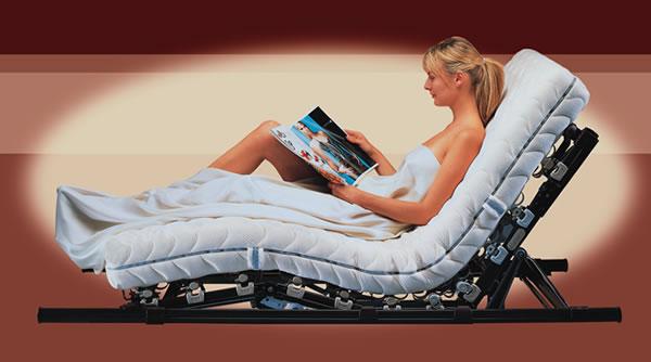 das bettsystem lattoflex 300 mit motorrahmen bildseite. Black Bedroom Furniture Sets. Home Design Ideas