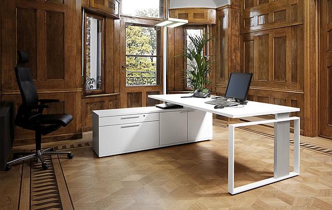 Designer Schreibtischlen leuwico imove designer schreibtisch mit höhenverstellung sitz