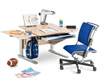 Der Moll Schreibtisch Winner   Hier In Der Kompakten Form   Ist Besonders  Für Kleinere Kinderzimmer