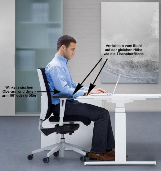Richtige Einstellung Von Schreibtisch Und Stehpult Tipps Für Die