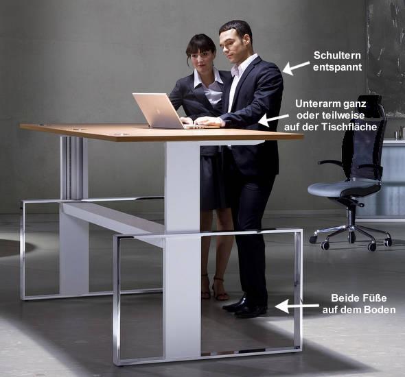 Richtige Einstellung Von Schreibtisch Und Stehpult Tipps Fur Die