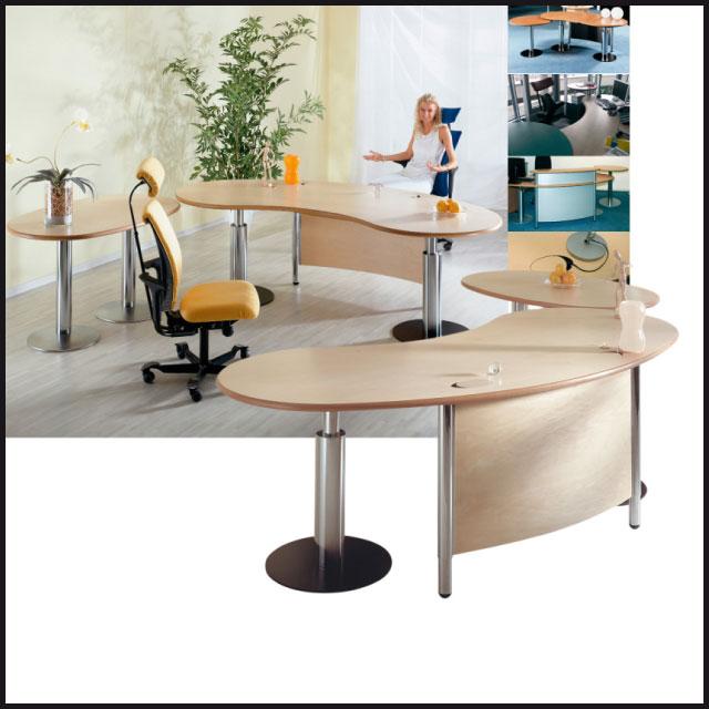 Der C Style Schreibtisch Von Vital Office Hochwertige Büroarchitektur Auf Basis Ganzheitlicher Gestaltungsideen